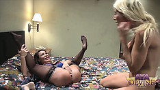 Ava Devine gets fucked and fisted by slutty blonde Puma Swede