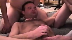 Naughty dudes have a wild cock-sucking party for the cameras