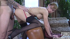 Rosa is definitely admired by lovely cock of her nasty stud Marcus