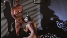 Overpowering lust makes two horny busty vixens hungry for orgasm