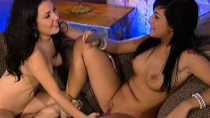 Avy Lee Roth likes feeling Valerie's breath over her soaked pussy