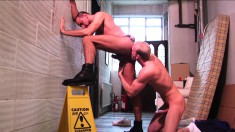 Ben and Matthieu exchange oral pleasures and have intense anal sex
