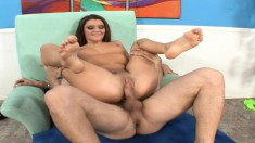 The fine Arianna Jay gets her legs spread for a hardcore pounding
