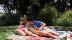 Sexy Boy Dominic Invites His Lover Valentin To Pound His Ass Outside