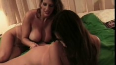 Sexy lesbians Kianna Dior and Shay Sights love making each other moan