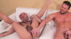 Darius Soli and Brian Davilla get together and enjoy hot bareback sex