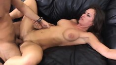 Simone Riley strips and shows what she can do for the casting director