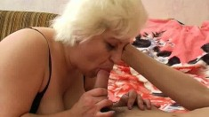 Blonde Has Doggystyle And Missionary Sex With Belly Cumshot