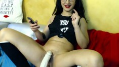 French Teen Toys on Live Webcam