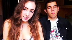 Amateur teen slow blowjob and swallow
