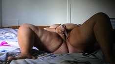 Bbw Cherry Masturbates Her Fat Pussy With Toys