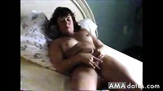 HUSBAND WATCHES WIFE MASTURBATE