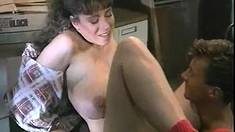 Amateur busty step mom rides dick after pussy lick